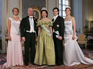 خانواده سلطنتی سوئد